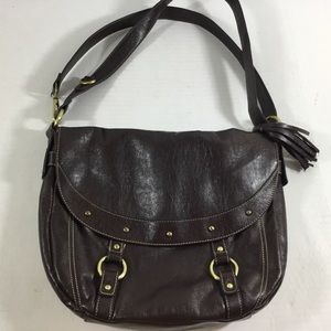 Nine West Large Brown Cross Body/Shoulder Bag